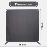 Picture of STEELAID Room Divider Office Wall Divider 72''