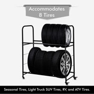 Picture of Rolling Tire Rack
